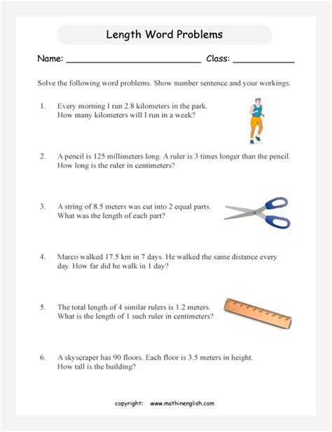 all worksheets 187 measurement problem solving worksheets