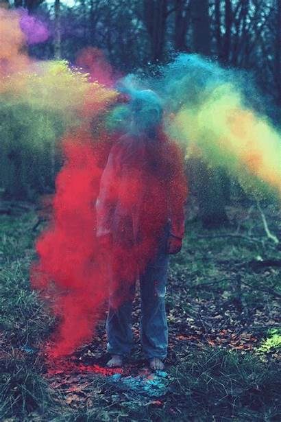 Chalk Smoke Bomb Colored Bombs Powder Colors