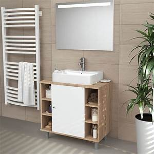 Meuble Sous Lavabo But : meuble sous lavabo armoire de bain meuble sous vasque ~ Dode.kayakingforconservation.com Idées de Décoration