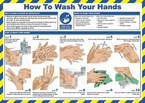 How To Wash Your Hands Poster From Safety Sign Supplies