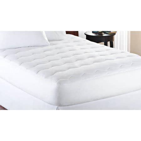 mattress pads walmart mainstays thick 1 quot mattress pad white walmart