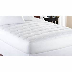 mainstays extra thick 1quot mattress pad white walmartcom With best cheap mattress pad