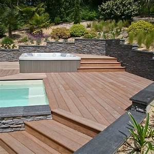 Terrasse Bois Exotique : lame de terrasse bois exotique cumaru 2100x140x21 ~ Melissatoandfro.com Idées de Décoration