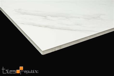 Carrara Marble Tiles Melbourne by Carrara Marble White Polished 600x600 Tiles Republic