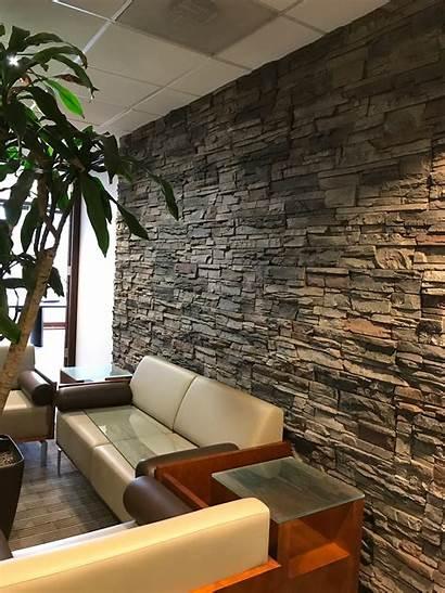 Accent Wall Stone Stacked Veneer Faux Kenai