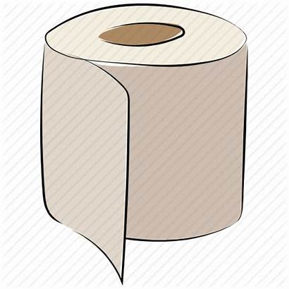 Paper Towel Clipart Roll Tissue Toilet Icon