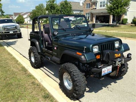 Sell Used 1994 Jeep Wrangler Se  Yj Built Up, Nice Jeep