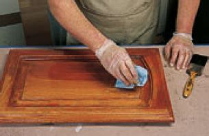 apply glaze finishes glazing pickling faux