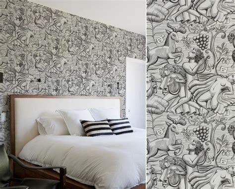 tapisserie originale chambre papiers peints de marques inspiration dcoration