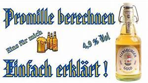 Alkohol Berechnen : promille berechnen einfach erkl rt deutsch hd youtube ~ Themetempest.com Abrechnung