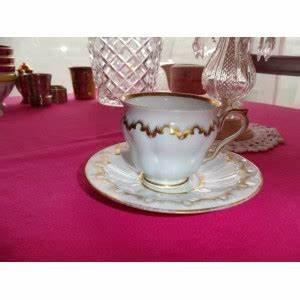 Tasse Et Sous Tasse : tasse et sous tasse en porcelaine de paris brocante lestrouvaillesdecaroline ~ Teatrodelosmanantiales.com Idées de Décoration