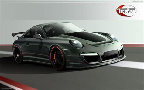 Porsche 911 Design Concept By Techart Widescreen Exotic