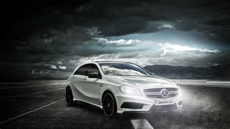 Mercedes Class 4k Wallpapers by Mercedes A45 Amg White 4k Wallpapers
