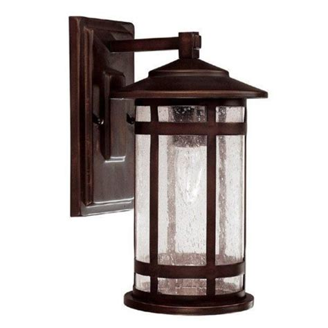 capital lighting 9951bb mission 1 light outdoor wall