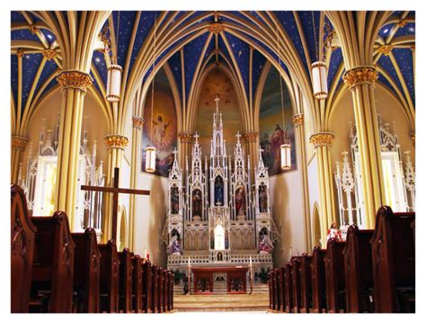 st maryland mary annapolis inside churches parish md marys andrea unforgettable cathedral flickr janda onlyinyourstate chapel setting located
