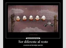 Ser diferente al resto Desmotivaciones