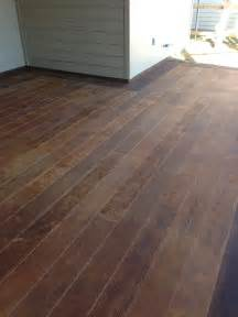 wood planks for outdoor concrete patio surecrete products