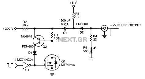 Oscillators Varius Circuits Pulse Generator