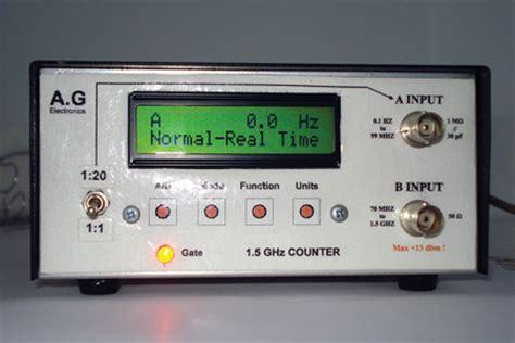 Circuit Cellar Build Signal Frequency Counter