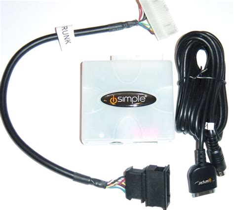 peripheral isimple pxdp pxhvw1 audi glove box ipod adapter