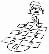 Hopscotch Template Comprehension Oral Test Coloring Pages Pretest Proprofs Sketch Pre sketch template