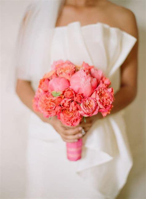 Wedding Wednesday Coral Floral Inspiration Flirty
