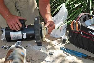 Spa Booster Pump Motor Installed In Sabre Springs
