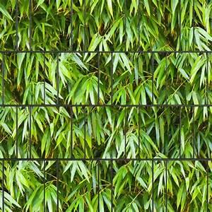 Sichtschutzstreifen Bedruckt Motiv Bambus Sichtschutz