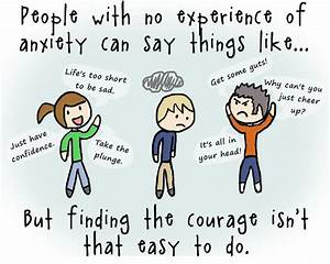 Overcoming Anxi... Funny Social Anxiety Quotes