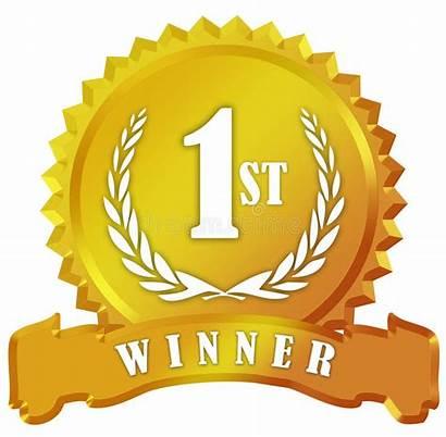Winner Award Sign Golden Winning Lucky Jackpot