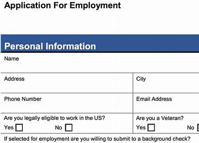 Application Job Form Printable Example Betterteam Pdf