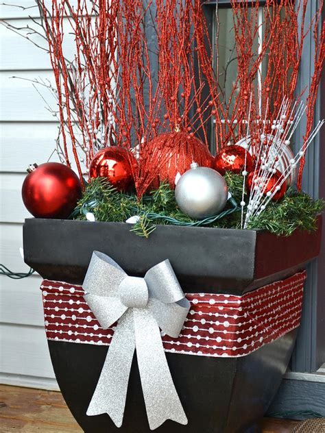 festive front porch hgtv