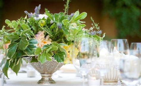 luxurious herbal centerpiece passover herb