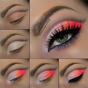 25 best ideas about Neon eyeshadow on Pinterest