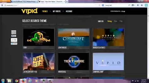 ivipid intro creator overview and video previews of all 36 of their templates youtube