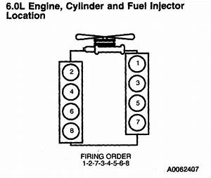 Ford F450  I Need The Firing Order And Diagram Please