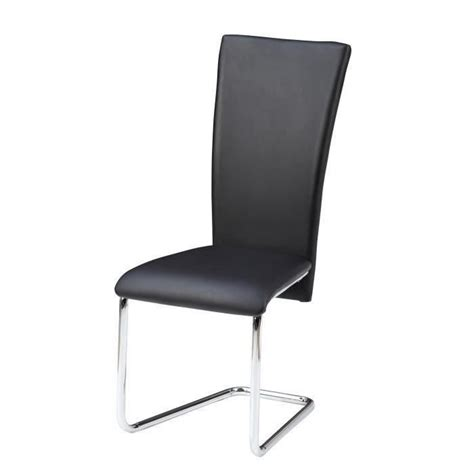 6 chaises pas cher agora ensemble table 224 manger 6 chaises en simili noir 120cm achat vente table salle a