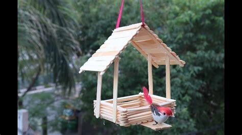 diy    waste ideasmaking bird housewall hanging