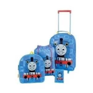 thomas the tank 4 piece luggage set suitcase product