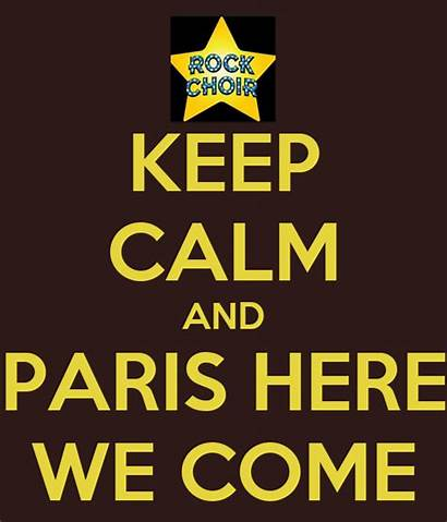 Come Paris Calm Keep Matic
