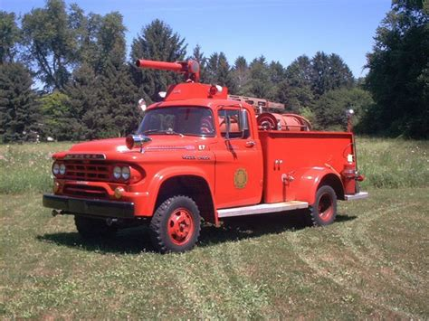 1959 LIttle Mo Dodge Power Wagon Fire truck Note the