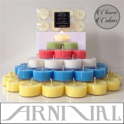 beeswax tea lights bulk unscented natural soy wax tealight candles long lasting