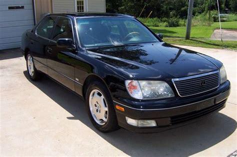 lexus sedan 2000 buy used 2000 lexus ls400 base sedan 4 door 4 0l platinum
