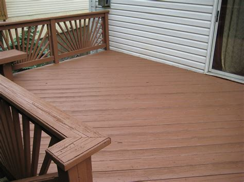 Restaining A Deck With Solid Stain by Power Washing And Deck Sealing In Baltimore The Grimebusters