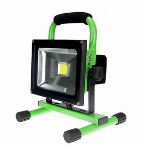 Emergency battery flood lights : Portable rechargeable led flood light emergency spot