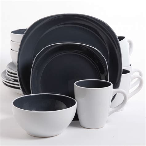 square dinnerware set dinnerware sets gibson outlet 4601