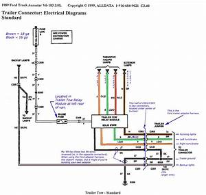 Wiring Diagram For A Trailer With Electric Brakes