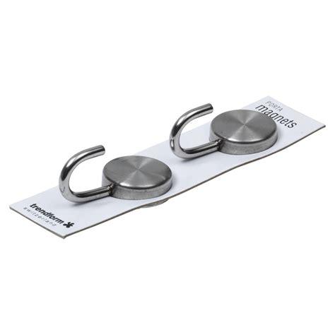 set couteau cuisine set de 2 crochets aimanté acier inox ø 2 5 cm capacité
