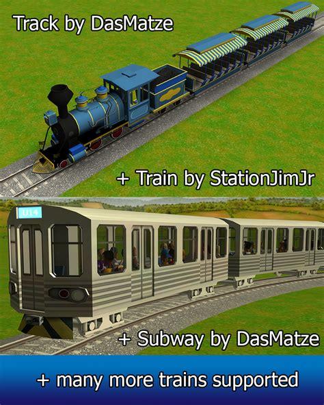 custom scenery depot theme park games railroad ct