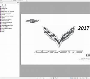 Chevrolet Corvette C7 2014-2017 Service Manual  U0026 Wiring Diagrams - Homepage